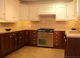 charming two tone kitchen cabinets 14 salmon colored kitchen