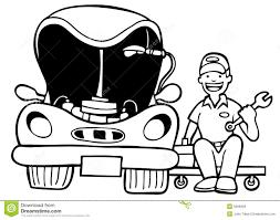 auto mechanic shop clipart 2111483