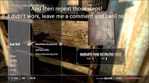 skyrim home decorating guide skyrim level up instantly oghma infinium updated glitch exploit