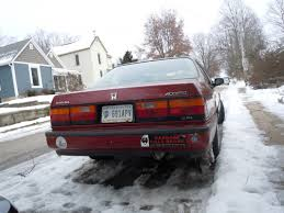 future honda accord curbside classic 1986 1989 honda accord u2013 ignoring the future in