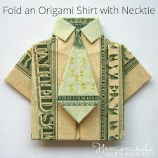6 and creative ways to give graduation origami shirt