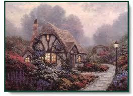 kinkade chandler s cottage centered