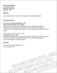 Director Of Development Resume Sample Volunteer Resume Delectable Sample Resume For Experienced