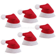 Santa Claus In Helicopter Christmas Decoration by Mini Santa Claus Hats Christmas Holiday Decoration For Lollipop