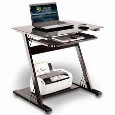 Laptop Desk With Printer Shelf China Glass Computer Desk With Pull Out Keyboard Panel And Printer