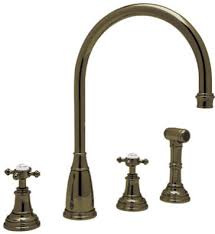 rohl kitchen faucets reviews rohl u 4736l stn 2 perrin rowe 4 c spout kitchen faucet