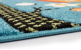 tapis pour chambre bébé tapis pour chambre enfant blue hibou pas cher