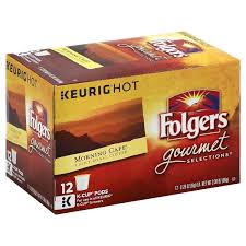 keurig k cups light roast folgers gourmet selections morning cafe light roast coffee k cups