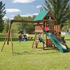 Backyard Discovery Weston Cedar Wooden Swing Set Backyard Discovery Weston Cedar Swing Set This One Is Also A