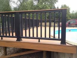 Patio Rails Ideas Dining Room Elegant Railing Designs For Outdoor Decks And