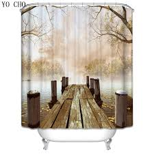 Wooden Art Home Decorations Online Buy Wholesale Wood Shower Curtain From China Wood Shower