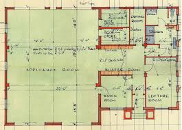 Fire Station Floor Plans Dunblane Fire Station 1954