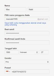 membuat email baru gmail ady nirwan google