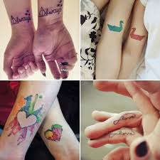 for couples matching tattoo ideas popsugar australia