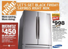 black friday doorbuster home depot home depot kicks off early black friday sales 2013 for appliances