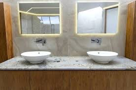 bathroom mirror with lights behind bathroom mirrors with lights behind vanessadore com
