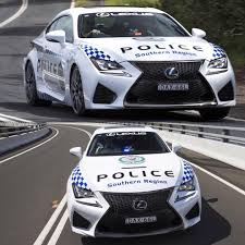 lexus rcf uae world u0027s fastest police cars