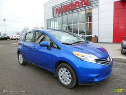 nissan versa s plus 2014 metallic blue nissan versa note s plus 92304698 gtcarlot