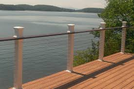 Cable Banister Bedroom Incredible Diy Cable Railing System Stainless Deck Prepare