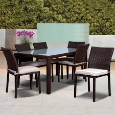 Mainstays Crossman 7 Piece Patio Dining Set by Patio Table 6 Chairs Home Design Ideas And Pictures