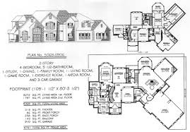 House Plans 4500 5000 Square 17 Best Images About Homes On Pinterest 3 Car Garage Craftsman