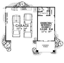 garage office plans garage plan 99293 at familyhomeplans com