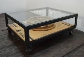 Table Acier Bois Industriel by Table Basse Style Usine Lovely Table Basse Metal Bois 14 Table