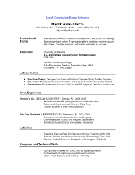 Resume Templates For Teachers Free Resumes Examples Free Best 25 Good Resume Format Ideas On