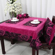 new patchwork thick rose table cloth europe american style tea