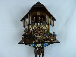Modern Cuckoo Clock Blue Saw 1 Day Musical Chalet Cuckoo Clock Cuckoo Clock Sales