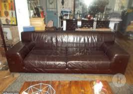 se débarrasser d un canapé donne canapé cuir à trégunc finistère bretagne mobilier