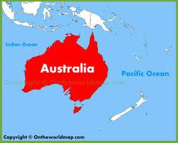 australia world map location category australia 0 ambear me