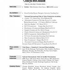 free resume exle templates cv template therapist beautician exle