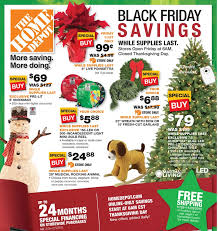 black friday 2015 home depot ad scan