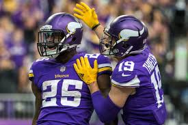 vikings road betting favorites hosting lions on thursday