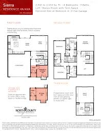 Townhome Floor Plans Avery Pointe Townhomes In San Diego From The 600 000s
