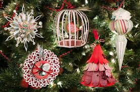 modest decoration tree ornament kits and green