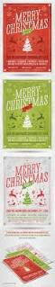 retro christmas party flyer template by saltshaker911 graphicriver