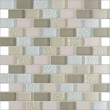 kitchen backsplash multicolor textured crystal glass wall tile