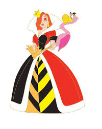 jessica rabbit as the queen of hearts cartoon things i want like