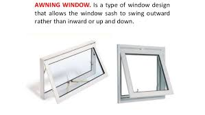 Awning Window Mechanism Types Of Window