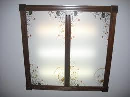 Decorative Ceiling Light Panels Fluorescent Lights Ergonomic Fluorescent Light Fixtures For