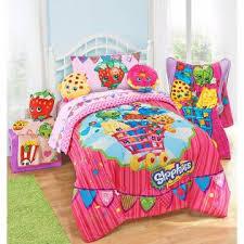 Girls Twin Bed In A Bag Shopkins Girls Twin Comforter U0026 Sheet Set 4 Piece Bed In A Bag