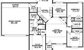 4 Bedroom Open Concept Floor Plans One Story 4 Bedroom House Floor Plans Inspiration House Plans