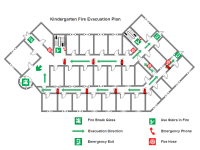 evacuation floor plan template fire and emergency layout floor plan solutions