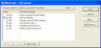 Wedding Anniversary Program Minireminder Download