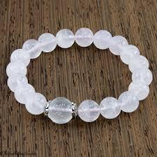 rose crystal bracelet images Rose quartz stretchy cord bracelet the bead gallery live love jpg