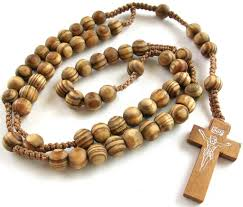 wooden rosary rosaries wood rosary prayer wooden cross necklace