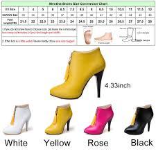 womens size 12 fringe boots meotina ankle boots platform high heels fringe boots