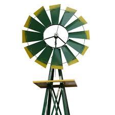 zeny windmill ornamental garden weather vane weather resistant 8
